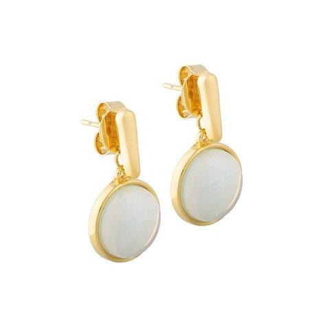 Серьги Pearl Opaline A1995.1 BW/G