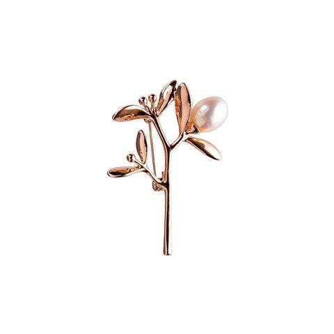 Брошь Цветок FAN-07369 RG