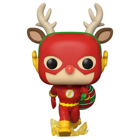Фигурка Funko POP! Vinyl: DC: Holiday: Rudolph Flash 50654