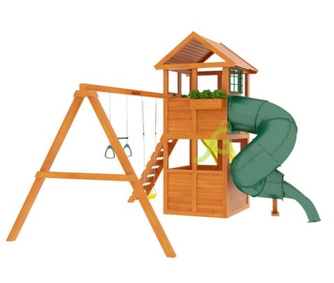 Детская площадка Клубный домик с трубой