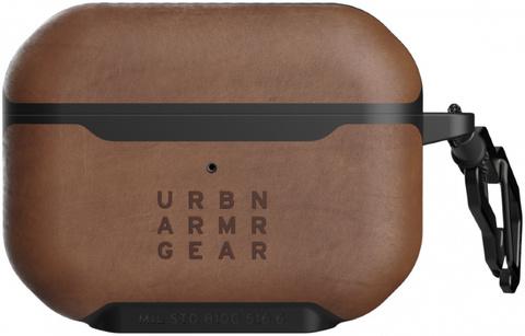 Чехол UAG для Apple Airpods Pro Metropolis кожа, коричневый (LTHR ARMR Brown)