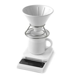 Кофейные весы Mojae - нужный гаджет для пуровера