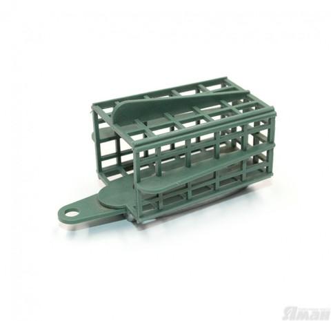 Кормушка фидерная Яман-Касатка квадрат 60 г, пластик (10 шт) MB-FD-04