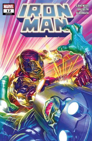 Iron Man Vol 6 #12 Cover A