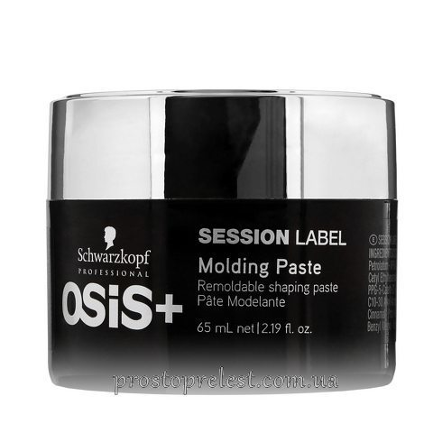 Schwarzkopf Osis+ Session Label Molding Paste - Моделирующая паста