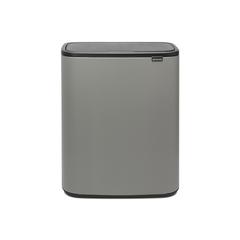 Мусорный бак Touch Bin Bo (2 х 30 л), Минерально-серый