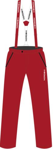 Утепленные брюки Nordski Jr.Red подростковые