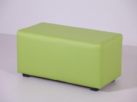 Пф-02 Пуфик прямоугольный (салатовый) для дома и магазина