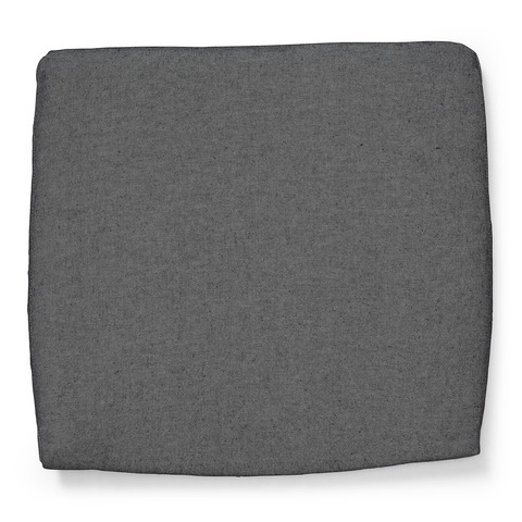 Подушка на стул Rodini темно-серая