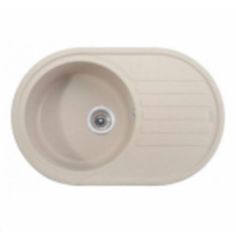 Кухонная гранитная мойка Kaiser KGM-7750-SB песочный мрамор