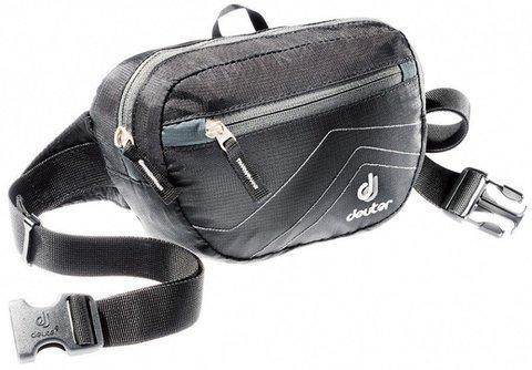 Картинка сумка поясная Deuter Organizer Belt black-antracite - 1