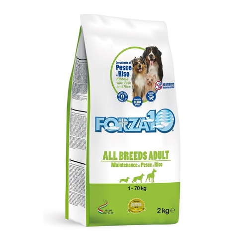 Forza10 ALL BREEDS ADULT MAINTENANCE из рыбы с рисом