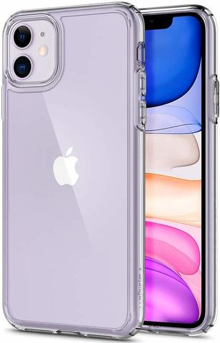 Чехол Spigen Ultra Hybrid Designed для Apple iPhone 11 Case (2019) - Crystal Clear