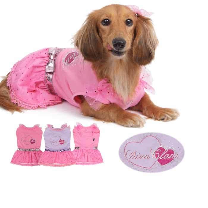 гламурное платье для собаки