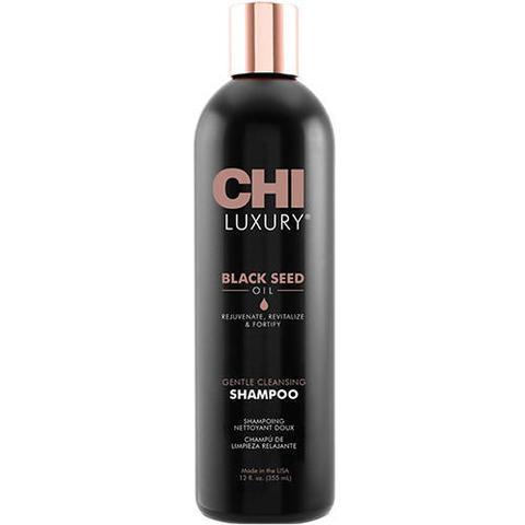 CHI | Шампунь CHI Luxury с маслом семян черного тмина для мягкого очищения волос, (355 мл)