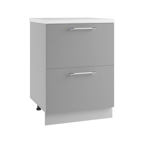 Кухня Гранд шкаф нижний комод (2 ящика) 850*600
