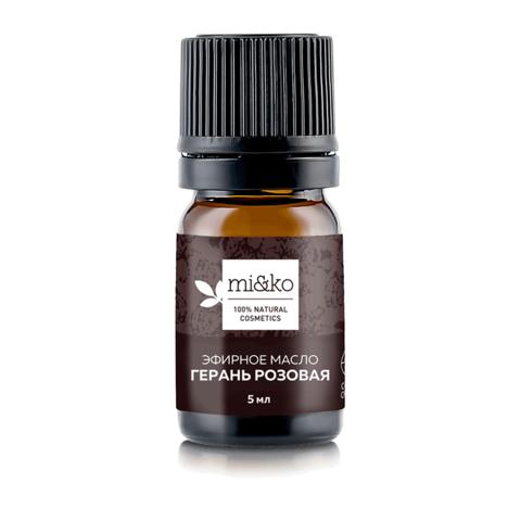 Эфирное масло Герань розовая 5 мл, органик (Mi&ko)