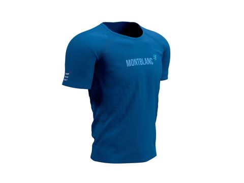 Футболка Training - Mont Blanc 2021 Синий