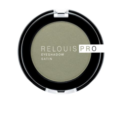RELOUIS Тени Pro Eyeshadow Satin тон 35, green tea