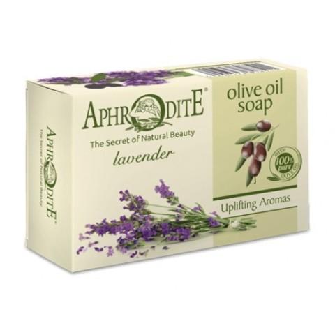 Мыло оливковое с лавандой