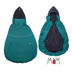 Слингонакидка MaM Deluxe FLeX Cover Бирюзовый/черный