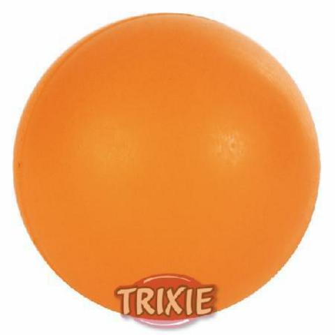 """Trixiе 3302 Игрушка д/собак """"мяч"""", ц/резиновый ф7,5см"""