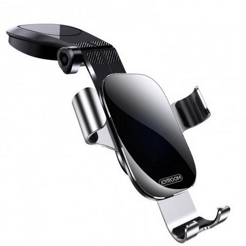 Автодержатель Joyroom JR-ZS198 Guangying Dashboard gravity bracket, (самозажимной), black