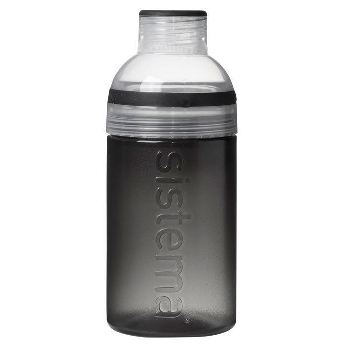 """Бутылка для воды Sistema """"Hydrate"""" 480 мл, цвет Черный"""