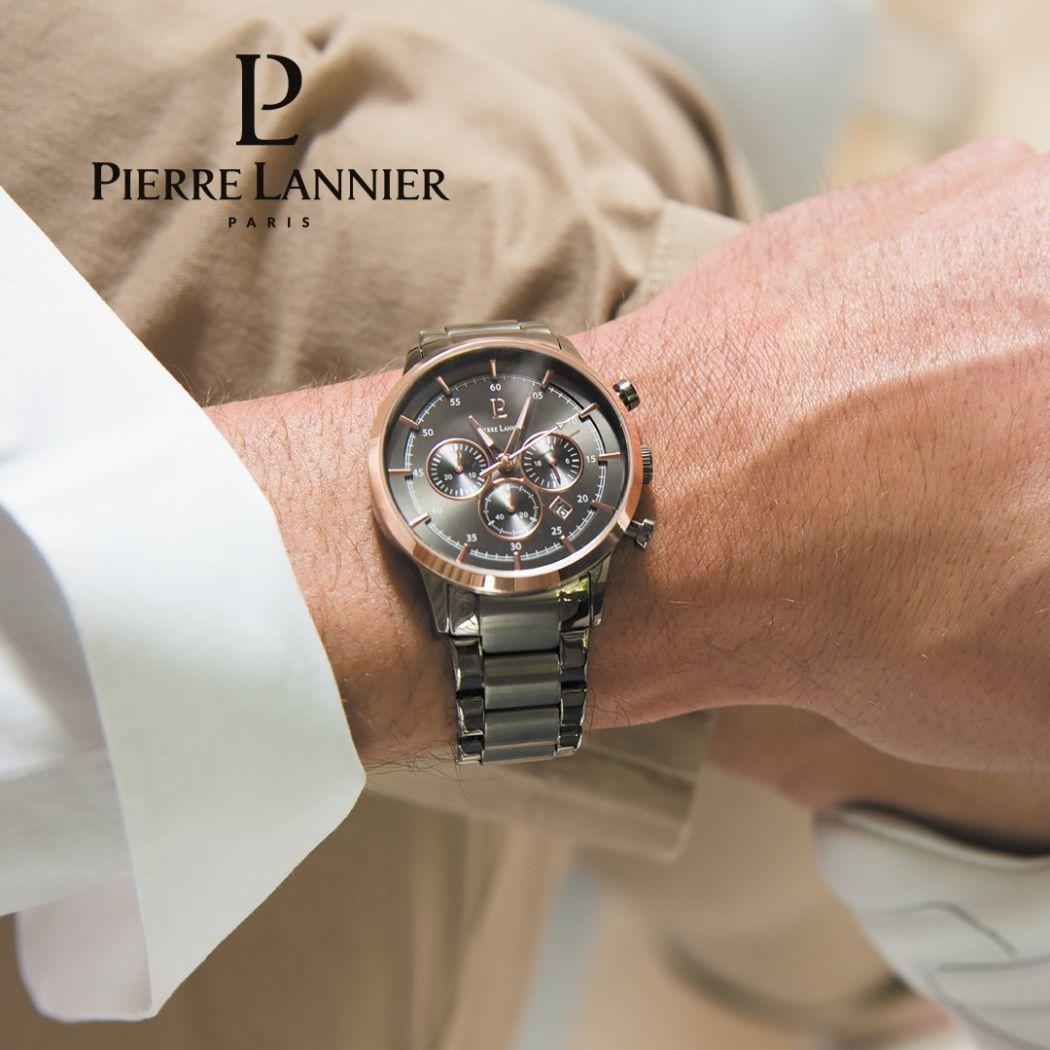 Pierre Lannier 244F499 Dark Grey