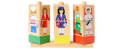 Кубики на палочке