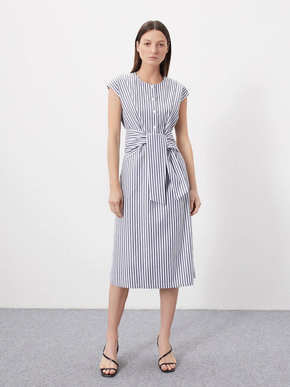 Платье Sherry без рукавов с завязками
