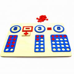 Математический планшет для дошкольников Нейромаг