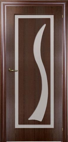 Дверь Mario Rioli Mare 101DA (орех махагон, остекленная, массив, облицованный шпоном)