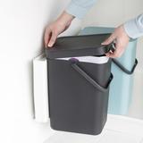 Набор ведер для мусора SORT&GO 12л (2шт), артикул 109980, производитель - Brabantia, фото 10
