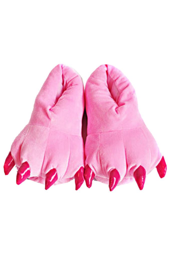 Тапки кигуруми Тапки кигуруми розовые slippers-pink.jpg