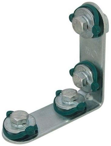 Walraven BIS RapidRail соединитель угловой 90° длинный/длинный для профилей WM (6584001)