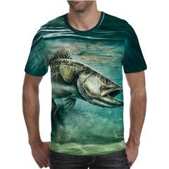Футболка 3D принт, Рыба (3Д Fish) 23