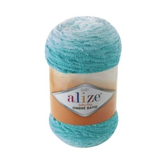Пряжа Alize Softy Plus Ombre Batik цвет 7281