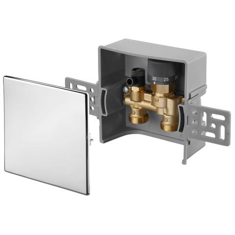 Oventrop Unibox E RTL 1022731 терморегулятор 20-40°C, глубина 57 мм