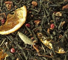 Зеленый чай Сенча Апельсин