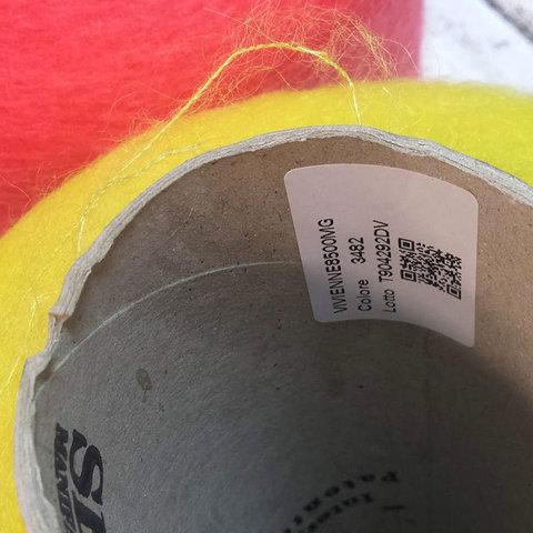 Мохер на шелке SESIA / VIVIENNE  850 желтый неоновый