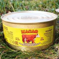 Масло сливочное стерилизованное 72,5%, 315г производство Карат