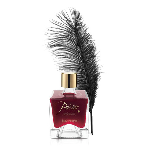 Bijoux Indiscrets Poеme Sweetheart Cherry Краска для тела Вишня, 50г