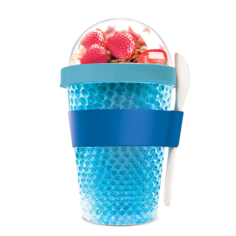 Контейнер Asobu Chill yo 2 go (0,38 литра), голубой*