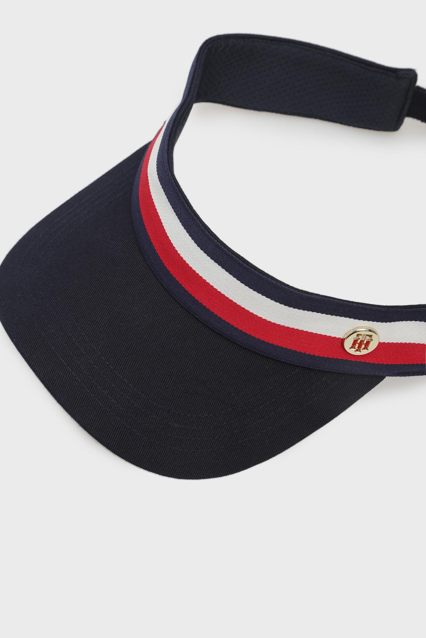 Женская темно-синяя кепка Tommy Hilfiger