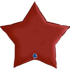 Г 36''/91см, Звезда, Рубиновый, Сатин.