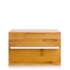 Бамбуковая шкатулка с выдвижным ящиком для хранения эфирных масел, 25см x 19см x 16см / Bamboo Box Single Drawer