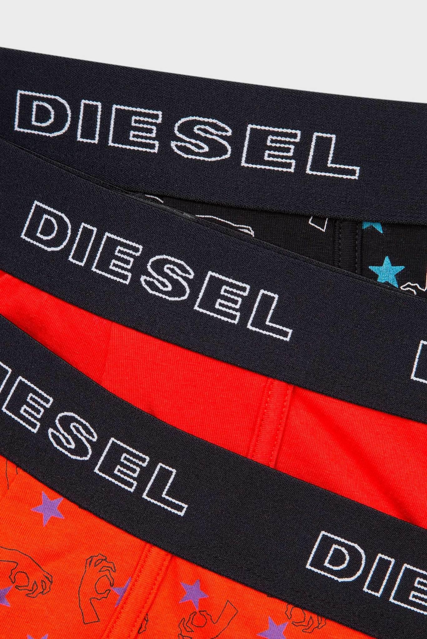 Мужские хлопковые боксеры UMBX-DAMIEN (3 шт) Diesel