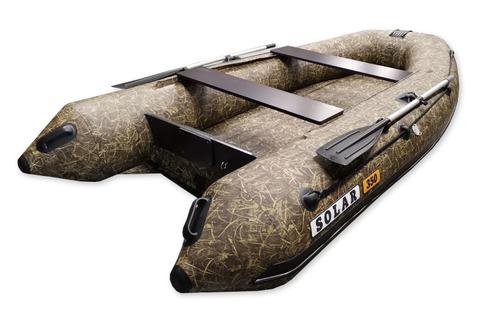 Надувная ПВХ-лодка Солар Оптима - 350 (камыш)