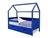 Кровать-домик  мягкий SVOGEN массив сосны